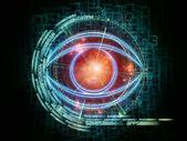 Eye of technology — Stock Photo