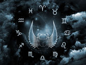 Astrology Arrangement — Stock Photo