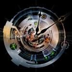 Computing Clockwork — Stock Photo #18990811