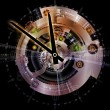 Stock Photo: Clockwork Abstraction