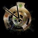 Clockwork Backdrop — Stock Photo