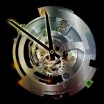 Numeric Vision of Clockwork — Stock Photo