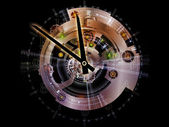 Clockwork Abstraction — Stock Photo