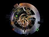 Virtualization of Clockwork — Stock Photo