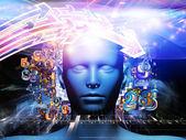 Conceptual Digital Science — Stock Photo