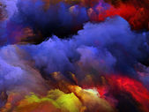 The Mist of Colors — Stock Photo