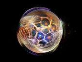 Technological Ball — Stock Photo