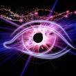 Eye of singularity — Stock Photo