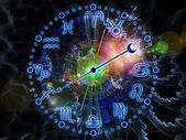 Psychedelic Zodiac — Stock Photo