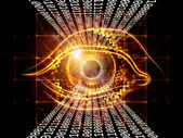 Digital eye — Stock Photo