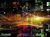 Elements of Digital Network — Stock Photo