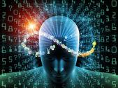 Propagation of Digital Thinking — Stock Photo