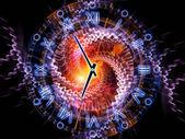 Engranajes de tiempo — Foto de Stock