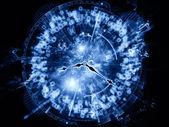 Wereld van tijd — Stockfoto