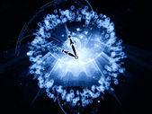 Luces del tiempo — Foto de Stock