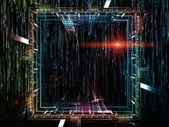 Fundo de fluxos digitais — Foto Stock
