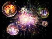 Paradigm för information — Stockfoto
