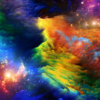 Stock Photo: Energy of Fractal Paint