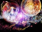 Cyfrowy Życie muzyki — Zdjęcie stockowe