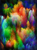 Colorful three dimensional textures — Stock Photo