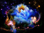 Unfolding of Fractal Dreams — Stock Photo