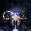 Realms of Digital Thinking - Stockfoto