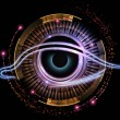 Eye of artificial intelligence — Stock Photo #21326137