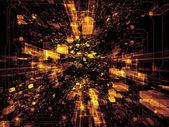 состав виртуальное пространство — Стоковое фото