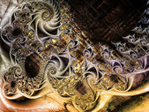 Realms of Fractal Motion — Stock Photo