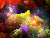 Fractal Paint Particles — Stock Photo