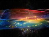 Conceptual Fractal Waves — Stock Photo