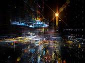 ускоряя технологии — Стоковое фото