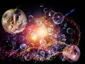 Spheres of Music — Stock Photo