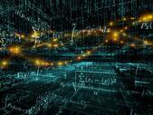 Reich der mathematik — Stockfoto