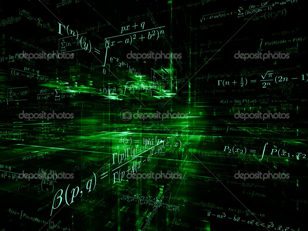 virtual mathematics mdash stock - photo #1