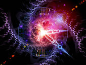 Lights of time — Stock Photo