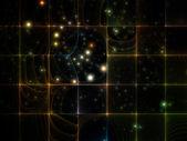 Griglia virtuale frattale — Foto Stock