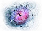 Dynamiczny zegar — Zdjęcie stockowe