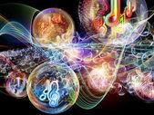 Paradygmat muzyki — Zdjęcie stockowe