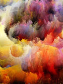 Colorful Fractal Turbulence — Stock Photo