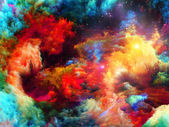 Cool Fractal Paint — Stockfoto