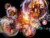 仮想音楽 — ストック写真