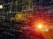 Virtual Mathematics — Stock Photo