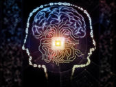 Emergence of Artificial Intelligence — Stock Photo