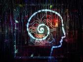 意識のデジタル ライフ — ストック写真