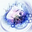 Time background — Stock Photo #23594065