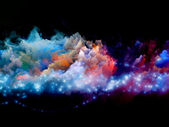 Clouds of creation — Stock Photo