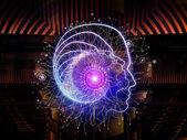 Virtualization of Human Technology — Stock Photo