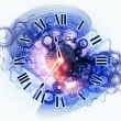 Stock Photo: Time abstraction