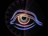 Fractal vision abstract — Stock Photo